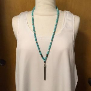 Lucky Brand turquoise necklace